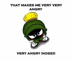 my fav looney tune xD Marvin the Martian Looney Tunes Characters, Looney Tunes Cartoons, Cartoon Jokes, Old Cartoons, Classic Cartoons, Disney Cartoons, Cartoon Drawings, Cartoon Art, Tweety