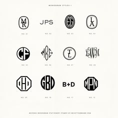 New monogram styles are in! Choose your monogram and have it made into a beautiful wood handle hand stamp!
