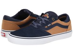 Vans Gilbert Crockett Pro Navy/Tan - Zappos.com Free Shipping BOTH Ways