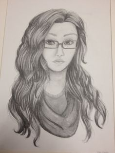 A Self-Portrait by Erika Rosado from the Schindewolf Intermediate School art program. #ArtColony #HouArtFest