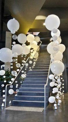 Grand Entrance  - Wedding Balloon Decor Ideas - Photos
