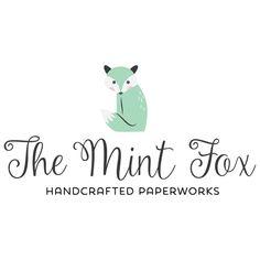 Premade Logo Design - Mint Fox Logo
