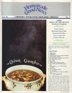 Homemade+Good+News+Vol.III+-+No.3 Retro Recipes, Old Recipes, Vintage Recipes, Cookbook Recipes, Cooking Recipes, Ethnic Recipes, Batter Recipe, Recipe Recipe, Recipe For 4
