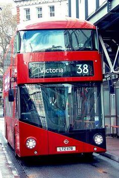 London - Bus LT2 n.38 (LTZ1178) at Victoria Bus Station