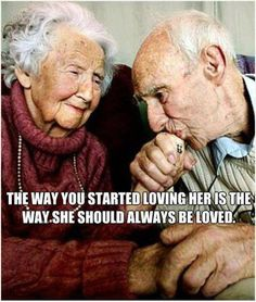 The way you started loving her is the way she should always be loved.