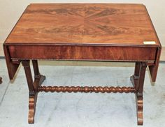 Antique French Louis Philippe Writing Table | Antique Desks/Secretaries | Inessa Stewart's Antiques