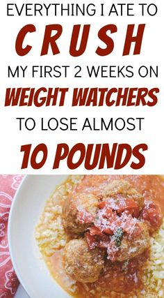 Here is every morsel of food that I ate for 2 weeks on the Weight Watchers Freestyle program. This is a complete 14 day healthy meal plan that outlines every Weight Watchers meal, snack and dessert I ate to lose almost 10 pounds in 14 days and I was never Weight Watchers Program, Weight Watchers Meal Plans, Weight Watchers Diet, Weight Loss Meal Plan, Weight Watchers Smart Points, Fast Weight Loss, Best Fat Burning Foods, Fat Burning Detox Drinks, Fat Burning Pills