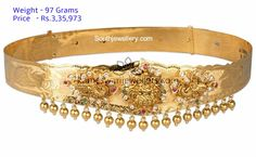Latest Gold Vaddanam Designs With Weight and Price Gold Haram Designs, Vaddanam Designs, Indian Jewelry Earrings, Bridal Jewelry, Gold Jewellery Design, Bead Jewellery, Gold Jewelry Simple, Latest Jewellery, Gold Bangles