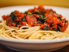 Briny Puttanesca sauce for pasta or fish #recipe