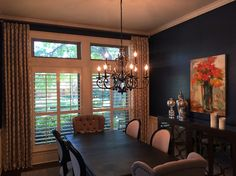Stationary drapes. #curtains #drapes #dallas #livingroom traditions window decor