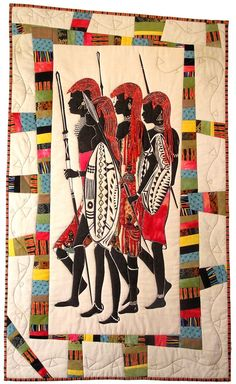 Free Pattern Pergamano African American | AFRICAN QUILT PATTERNS ... : african quilts patterns free - Adamdwight.com