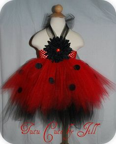 Lady Bug Tutu Dress Ryan's 1st halloween costume???