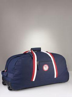 f7756516c3 Team USA Rolling Duffle - Polo Ralph Lauren Bags   Business - RalphLauren .com