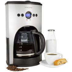 Andrew James 1100 Watt Digital Filter Coffee Maker With Fully Programmable  Function And Reusable Mesh Filter- 15 Cup Capacity 53d4b114835e