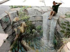 sidewalk art | Julian Beever - Sidewalk Art