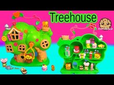 Lalaloopsy Treehouse Playset & Shopkins Season 3 12 Pack Unboxing Toy Review Video Cookieswirlc - YouTube