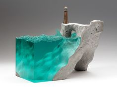 Larevuedudesign-ben-young-sculpture-verre-glass-art-design-concrete-beton-ocean-mer-paysage-landscape-03