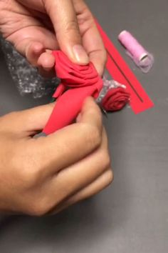 How to easily make paper rose . day crafts diy How to easily make paper rose Diy Craft Projects, Diy Crafts Hacks, Diy Crafts For Gifts, Diy Home Crafts, Diy Arts And Crafts, Creative Crafts, Paper Flowers Craft, Paper Crafts Origami, Flower Crafts