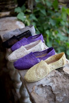 Crochet Women's Classics are BACK at TOMS.com! New colors for Spring, along with some of your classic favorites!