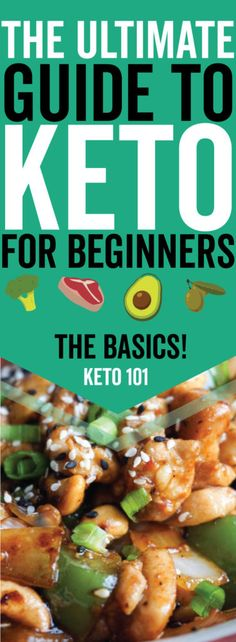 The Ultimate Ketogenic Diet Guide for beginners!