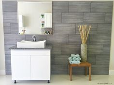 Adding a backsplash is a great way to enhance the appearance of your bathroom. Click to see stunning bathroom backsplash ideas for your home.