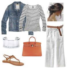 White Capri's Outfit | Cute stuff for my body | Pinterest ...