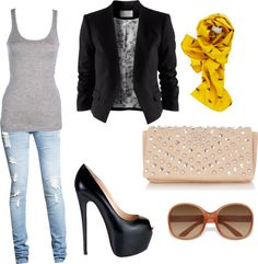Chic Fall Date Outfit :)