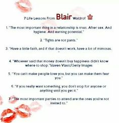 7 life lessons from Blair Waldorf blair lessons waldorf is part of Gossip girl quotes - Gossip Girl Party, Gossip Girls, Gossip Girl Scenes, Gossip Girl Quotes, Blair Waldorf Quotes, Blair Quotes, Blair Waldorf Gossip Girl, Quotes Sherlock, New Quotes