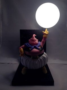 Afraid of the Dark No More: Dragon Ball Z Action Figure Lamps