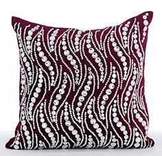 Handmade Purple Pillow Covers, Crystals Bling Pillows Cov... https://www.amazon.com/dp/B016460IC8/ref=cm_sw_r_pi_dp_x_DDmbybDW69GNC
