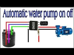 Water pump automatic on off circuit - YouTube Home Electrical Wiring, Make A Mobile, Electronics Projects, Rubber Bands, Circuit, Pumps, Digital, Water, Youtube