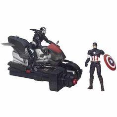 Marvel Avengers Age Of Ultron Capitão América E Máquina - R$ 69,99