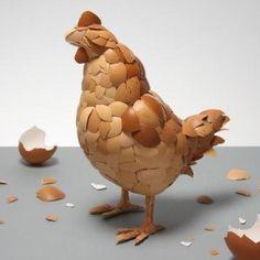 2.egg sculpture