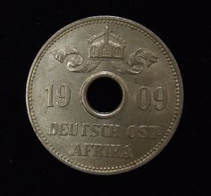 10 Heller German East Africa 1909 (Reserve)