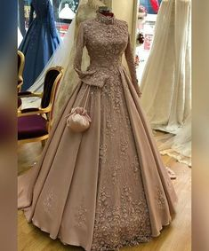 Dresses - Book ur dress now Completely stitched outfits in all colours like ✔ comment✔ share✔ tags✔ For booking ur dress plz dm or whatsapp at Indian Wedding Gowns, Muslim Wedding Dresses, Indian Gowns Dresses, Modest Dresses, Evening Dresses, Wedding Hijab, Gown Wedding, Indian Bridal, Fall Wedding