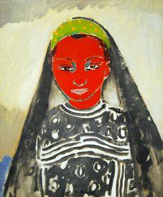 Kees van Dongen Saida 1913 or 1920 Oil on canvas National Gallery of Art, Washington DC Henri Matisse, Rotterdam, Art Fauvisme, Maurice De Vlaminck, National Gallery Of Art, Dutch Painters, Modern Artists, Rembrandt, Portraits