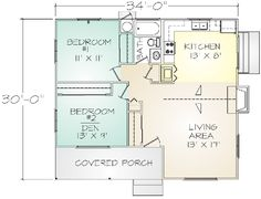 $27K for this Build-It-Yourself Kit Home from Pacific Modern Homes, Portola Floor Plan