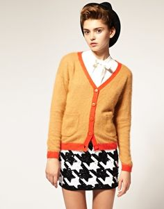I heart cardigans, esp ones with contrasting trim! £40