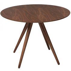 Legacy runt matbord - Ø106 cm - massiv valnöt