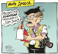 Mice Cartoon, Rakyat Merdeka - November 2015: Hate Speech