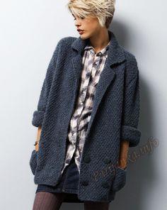Куртка (ж) 06*26 Phildar №4340 Кузмина