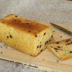 Cake  bananou  aux pépites de chocolat (sans farine )