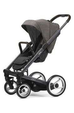 Mutsy 'Igo - Farmer Earth' Stroller in Brown/Dark Grey