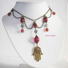 "Vintage Collier "" Fatima"