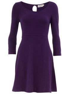 Dorothy Perkins  Purple knit dress $12