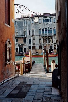 A jetty in Venice | Italy | Condé Nast Traveller | Photo by Michael James O'Brien