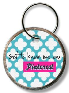 Get to know me on Pinterest :)