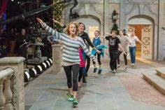 Rehearsals with Carrie Underwood for Sound of Music Live With MAM Actor Sophia Anne Caruso as Brigitta
