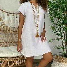 Women Casual Cotton Linen Solid Color Dress Short Sleeve V-neck Loose Dress Evening Dresses Plus Size, Plus Size Dresses, Plus Size Outfits, Casual Dresses, Short Sleeve Dresses, Elegant Dresses, Floryday Dresses, Long Sleeve, Formal Dresses