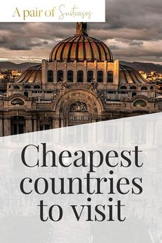 Cheapest countries to visit Beautiful Castles, Beautiful Beaches, Little Corn Island, Countries To Visit, Best Cities, Greece Travel, Beach Fun, European Travel, Amazing Destinations